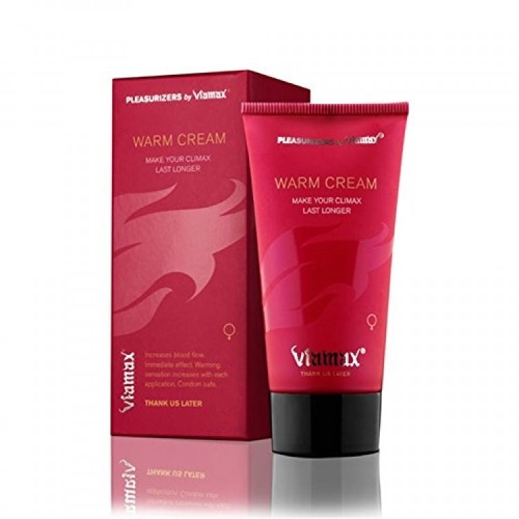 Viamax Warm Cream